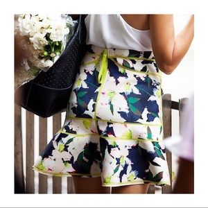 J. Crew Skirts - J.CREW Surf Skirt in Cove Floral